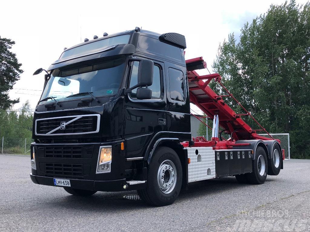 Volvo FM13 440 6x2 Multilift vaijerilaite, 376tkm