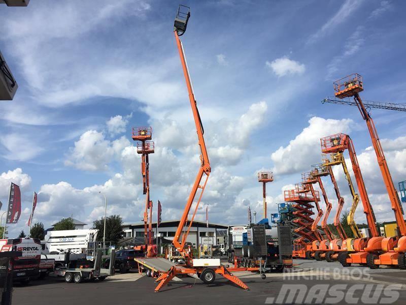 Niftylift 170 HAC Anhängerbühne 17.10m