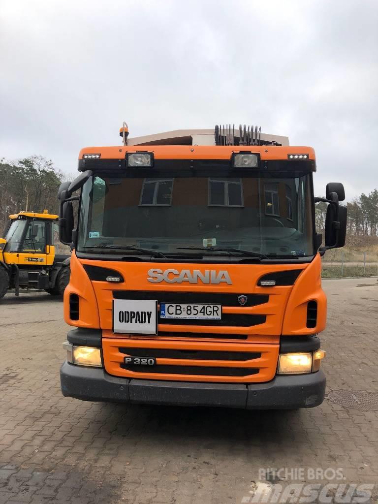 Scania ŚMIECIARKA P 320