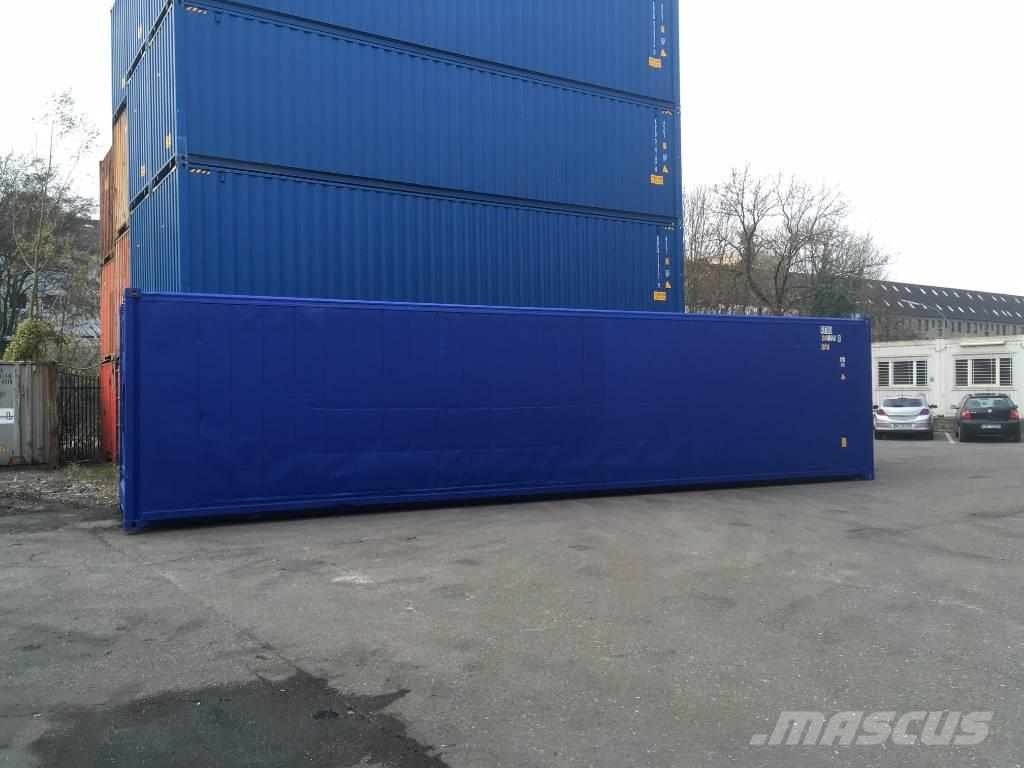 Used Carrier 40 Fuss Hc Isoliercontainer Refrigerated Containers