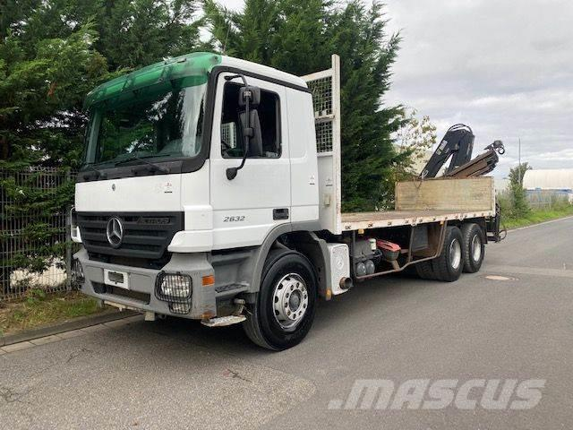 Mercedes-Benz Actros 2632 6x4 Kran Hiab 144B -3 DUO/Blatt-Blatt
