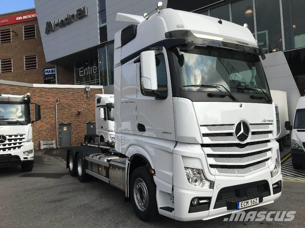 "Mercedes-Benz Actros 2653 LL 6x2 ""VÄGVÄXLARE"" OMG LEV!!"