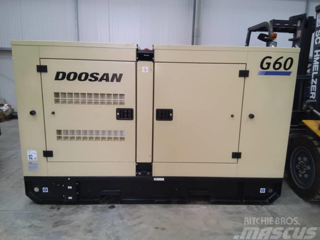 Doosan G60 PORTABLE GENERATOR
