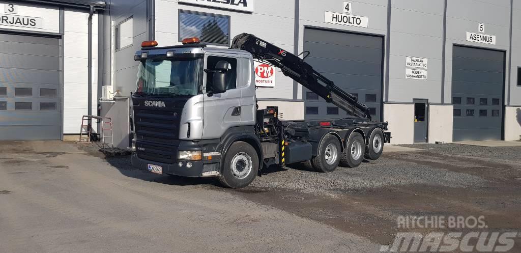 Scania R480 8x4'4