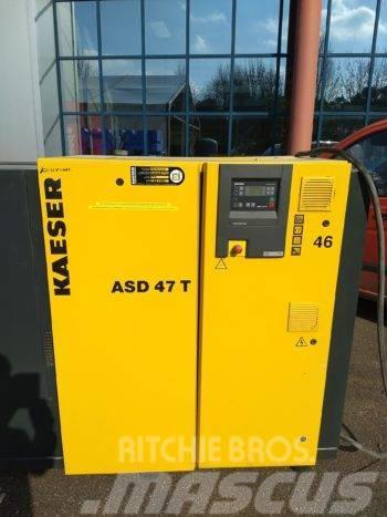 Kaeser – Occasie 25KW Schroefcompressor ASD-47T + droger