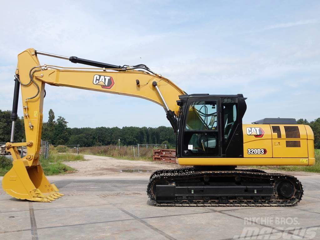 Caterpillar 320D3 - New / Unused / Hammer Lines