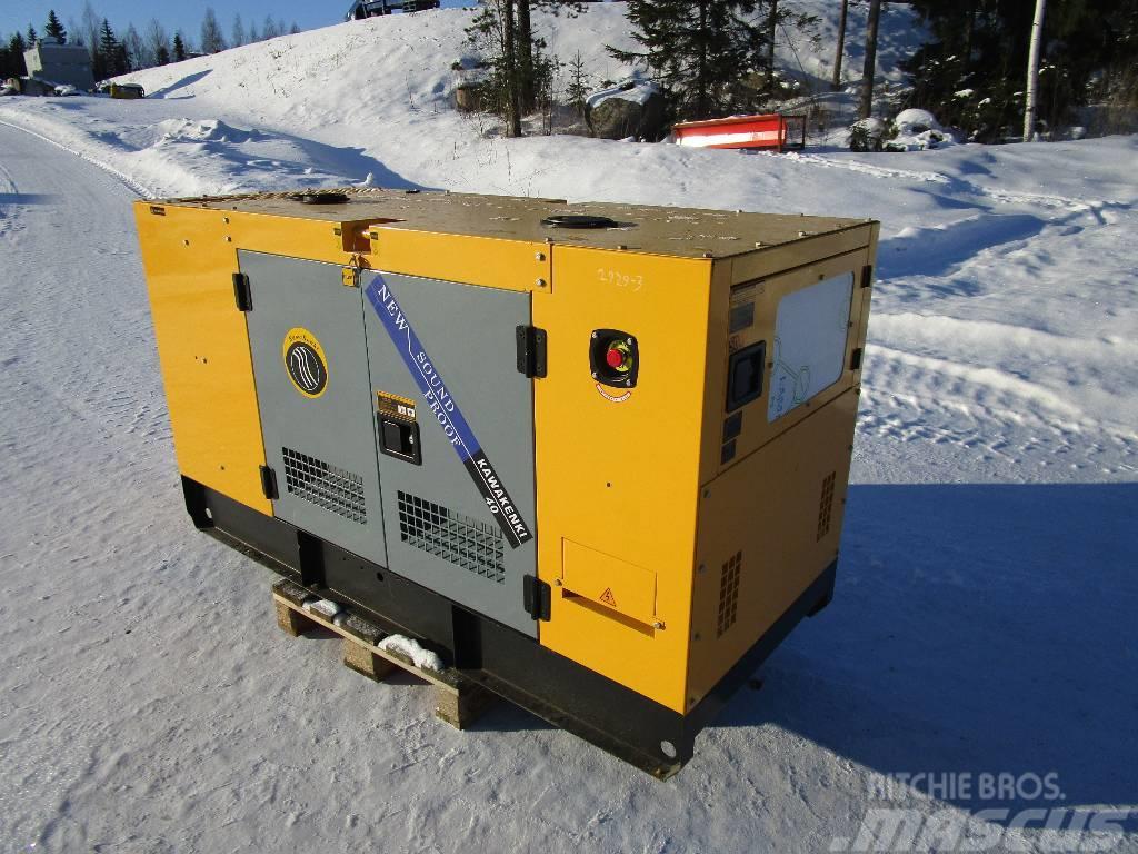 Kawakenki KK 40 40kVA aggregaatti / generaattori (Q05)