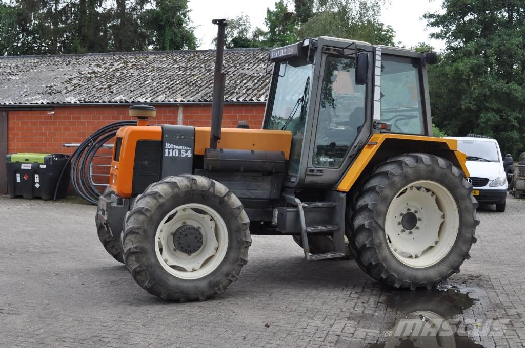 renault 110 54 txe netherlands 13 924 1995 tractors for sale mascus canada. Black Bedroom Furniture Sets. Home Design Ideas