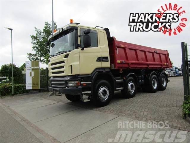 Scania R480 8X4 Manual,retarder, big axles