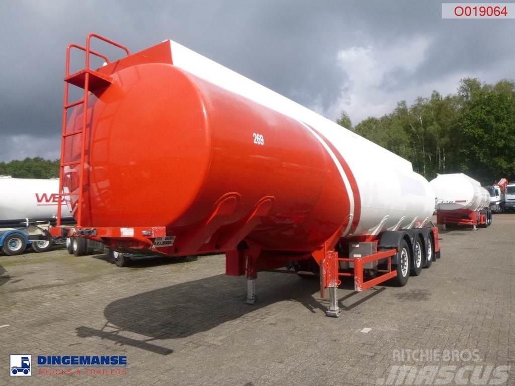 Cobo Fuel tank alu 38.2 m3 / 2 comp
