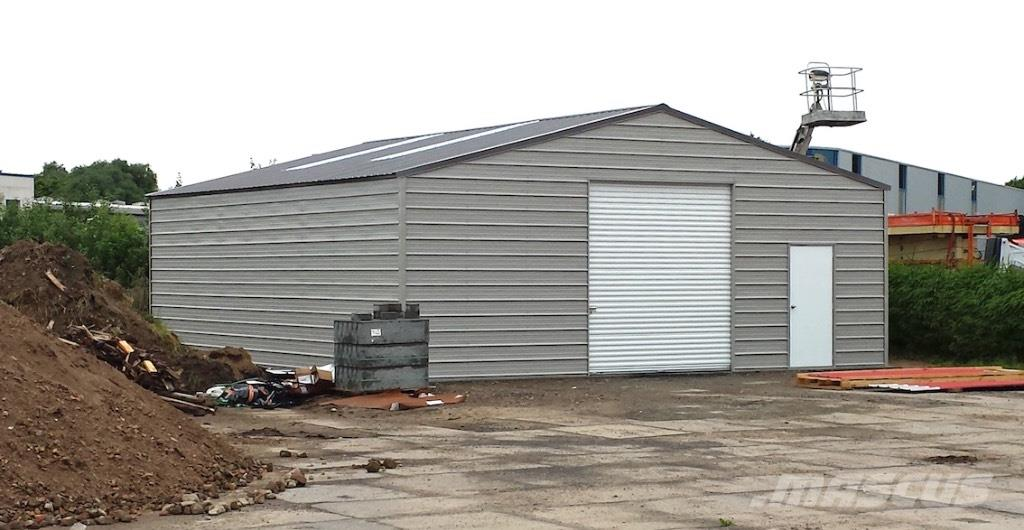 Caterpillar Loods H900: Steel building, Storage building