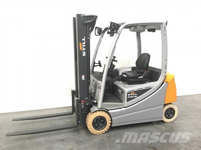 used still rx 20 20 electric forklift trucks year 2019. Black Bedroom Furniture Sets. Home Design Ideas