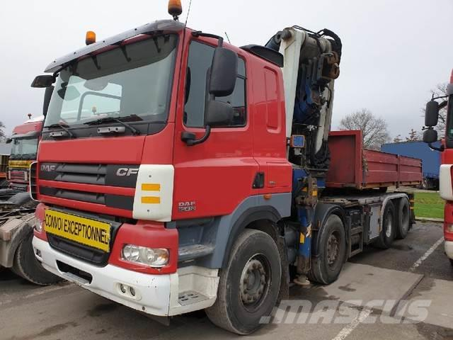 DAF 85 CF 410 Cormach 88000/6+tractor turntable E5 kra