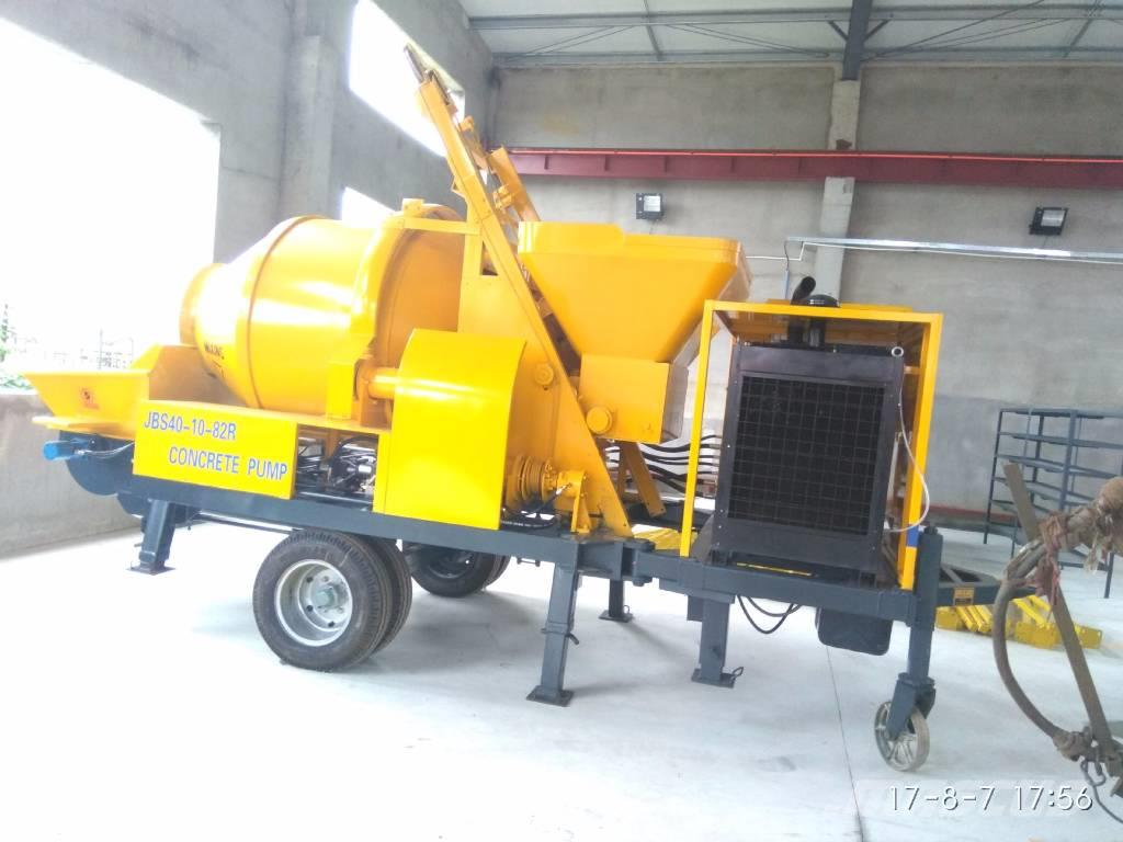 concrete mixer pump is a new Concrete mixer truck (cement mixer truck, concrete agitator truck) is a device that homogeneously combines concrete, aggregate such as sand or gravel, and water to form concrete - a powered device that mixes concrete with water and aggregate, such as sand or pea gravel, to make concrete.