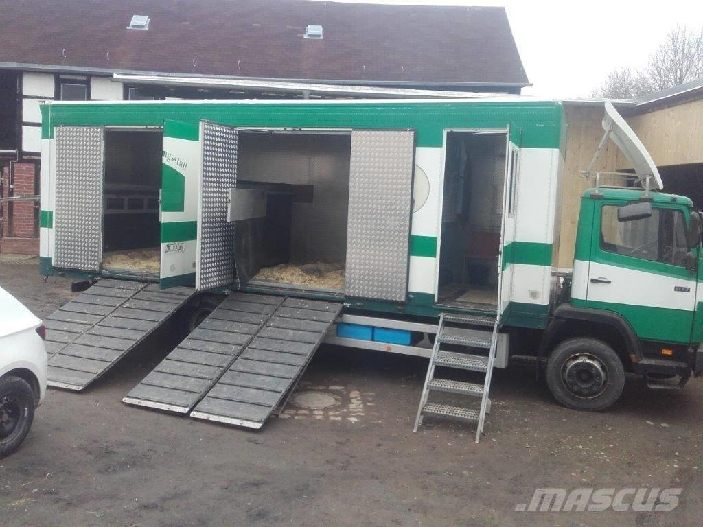 Mercedes-Benz Pferdetransporter MB1117, Motor neu