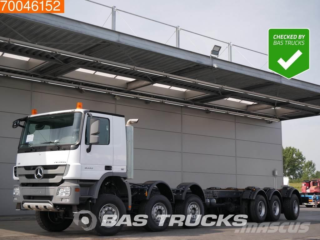 Mercedes-Benz Actros 6555 12X6 K NEW Manual V8 Concrete Pump Cha