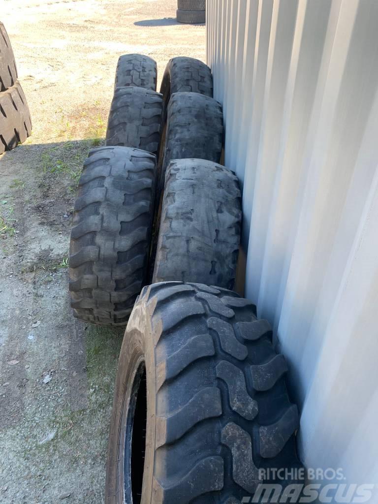 Dunlop 6st 405/70R20 SP T9   650kr/st