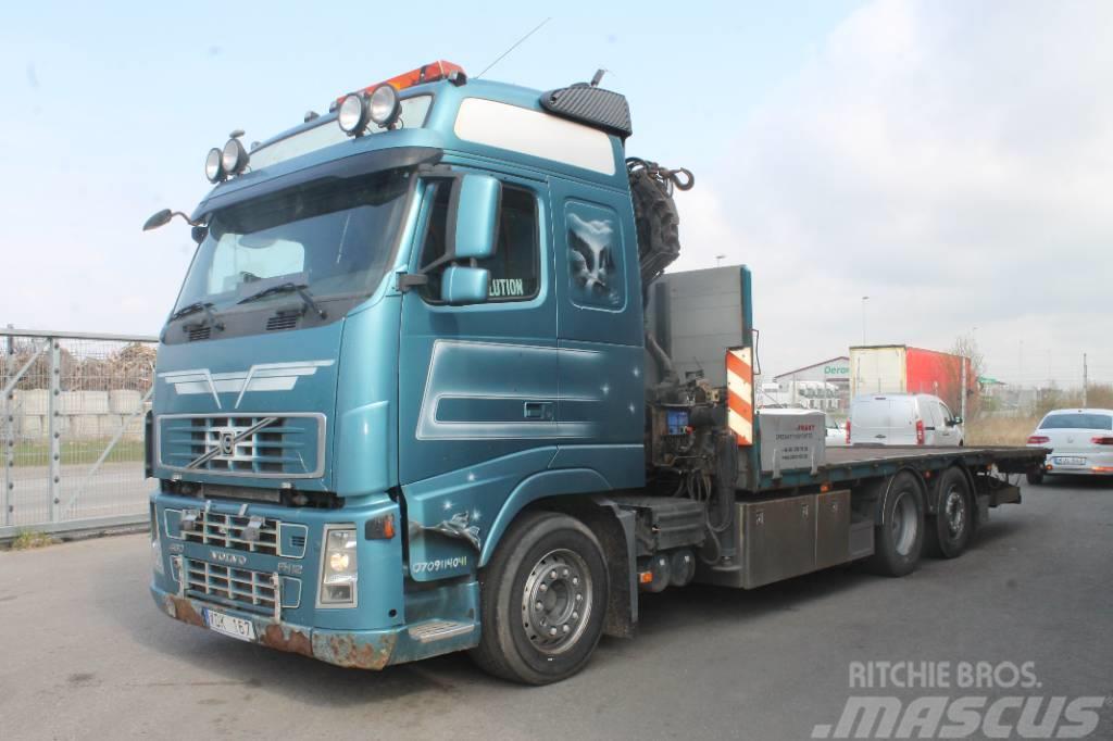 Volvo FH12 6X2R Kran+flak
