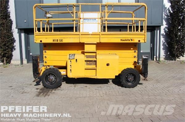 Haulotte H18SX Diesel, 4x4 Drive,18m Working Height (Rough