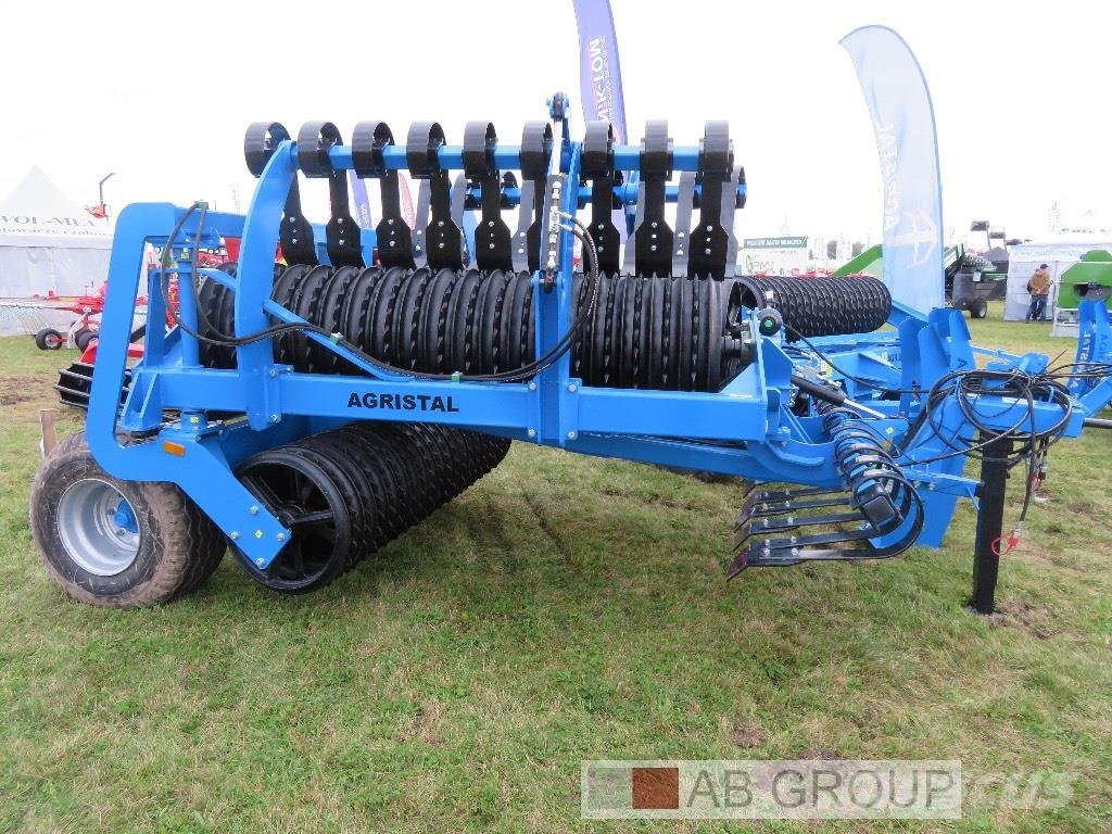 [Other] Agristal Hydraulic Walze 5.3m /Cambridge Roller/Ка