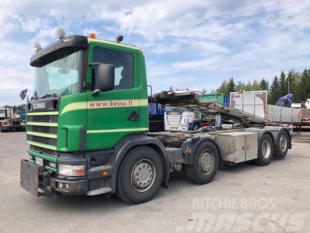 Scania P124 420 8x2/4