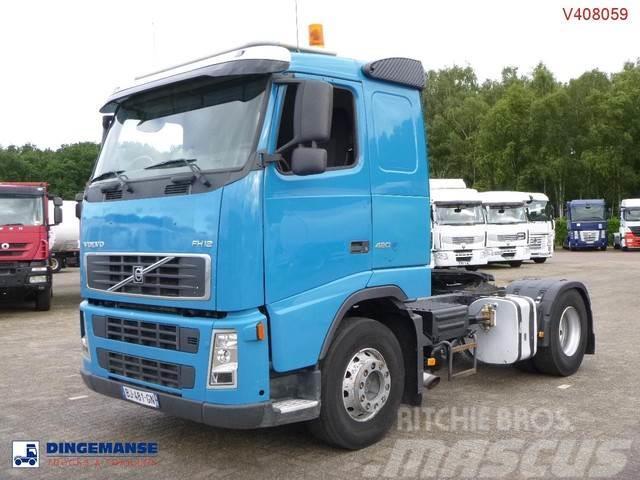 Volvo FH12-420 4X2 manual + hydraulics