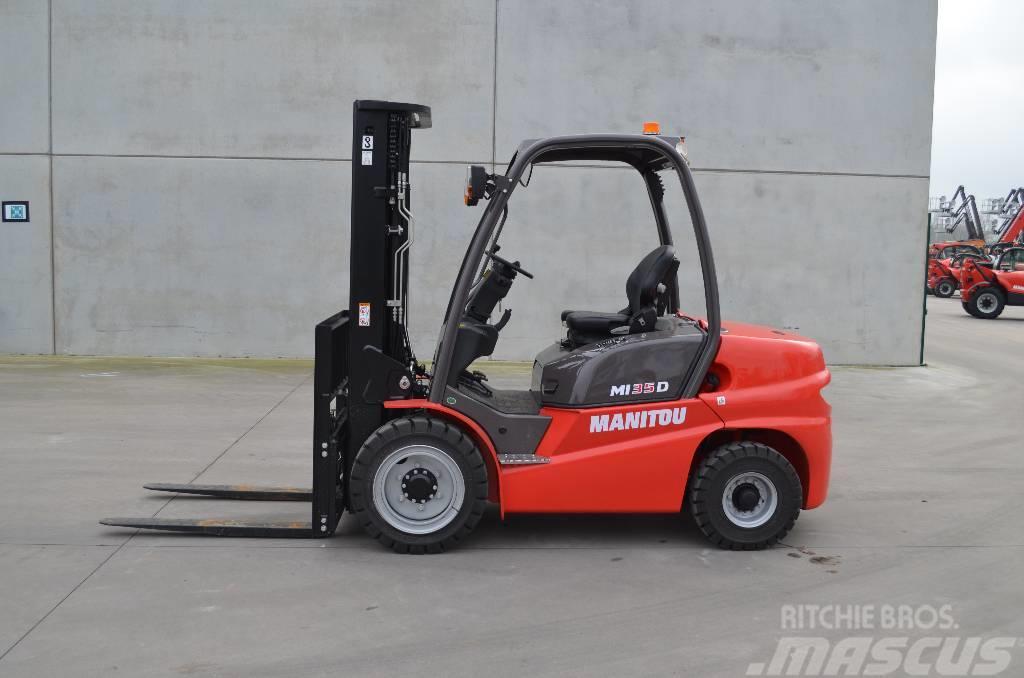 Ganz und zu Extrem Manitou MI 35 D, Baujahr: 2019, Diesel Stapler gebraucht kaufen #WA_57