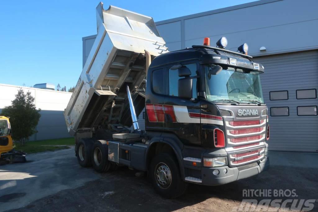 Scania R 560 6x4 tipper dump truck Mercedes-Benz Volvo