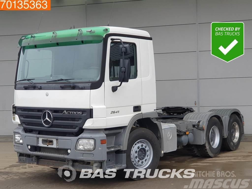 Mercedes-Benz Actros 2641 LS 6X4 Hydraulik 3-Pedals Big-Axle Eur