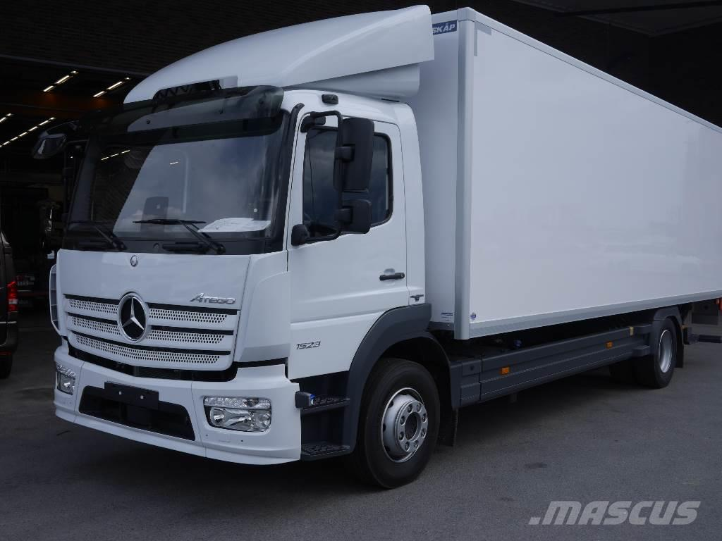 used mercedes benz atego 1523l box trucks year 2016 price 101 672 for sale mascus usa. Black Bedroom Furniture Sets. Home Design Ideas