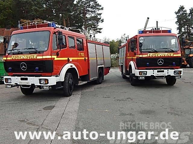 Mercedes-Benz 1222 AF Feuerwehr TLF 16/25 4x4 2.500l Wasser