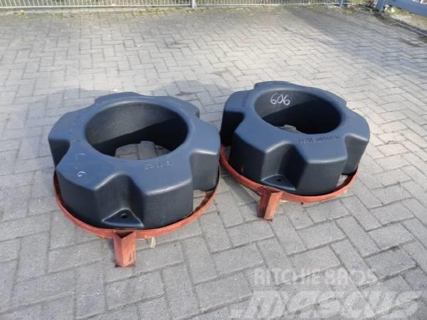 CNH Hinterradgewichte 454 kg