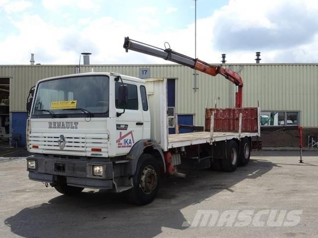 Renault G300 Manager 10 Tyre's Fassi F105 Crane Telma Good