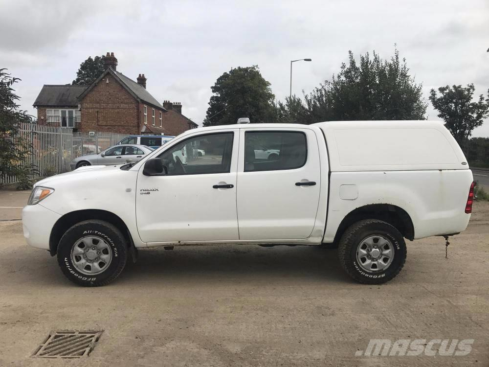 toyota hilux d4d hl great barford pick up dropside year of manufacture 2008 mascus uk. Black Bedroom Furniture Sets. Home Design Ideas