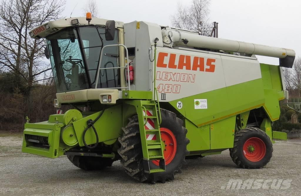 CLAAS Lexion 480 Combina agricola  second hand