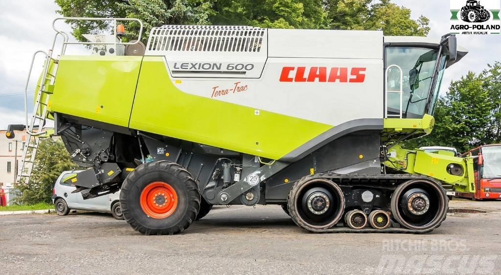 CLAAS LEXION 600 TT - 3020 h - 2008 - VARIO 1050