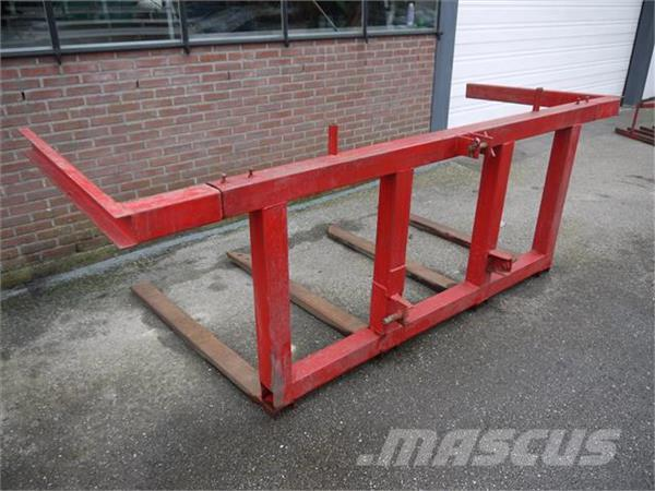 [Other] palletdrager in driepunt met 4 vorken Duijndam Mac