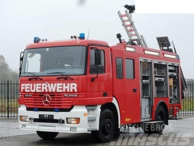 Mercedes-Benz Actros 4X2 1835 Ziegler FIRE TRUCK FEUERWEHR