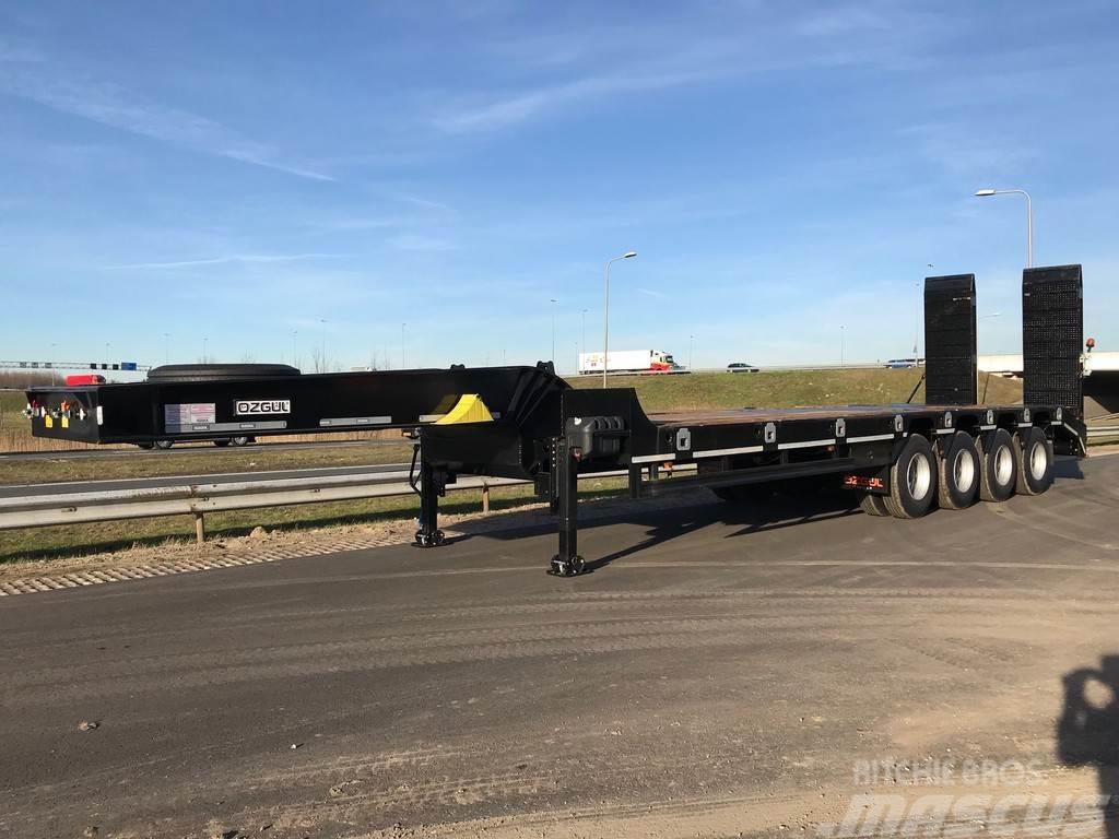 Ozgul LW4 80 Ton, 3 m, steel susp., hydr. ramps