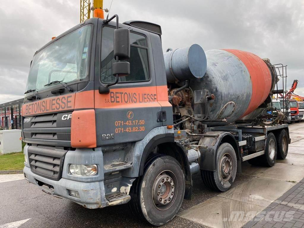 DAF CF 85.380 8X4 MANUAL - FULL STEEL - HUB REDUCTION
