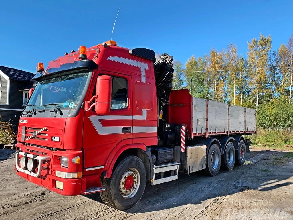 Volvo FM 12 420 8x4*Kran*Palfinger 29 t/m*Kipper*Video