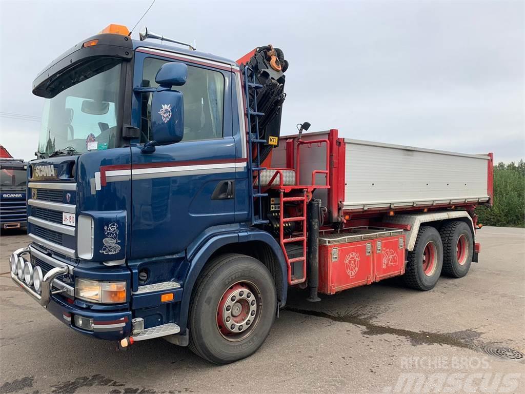 Scania R124-470 6x4