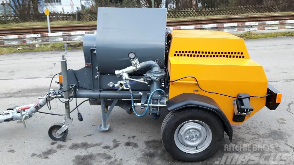 Putzmeister P 13 KK Trailer fine concrete pump 12m³/h