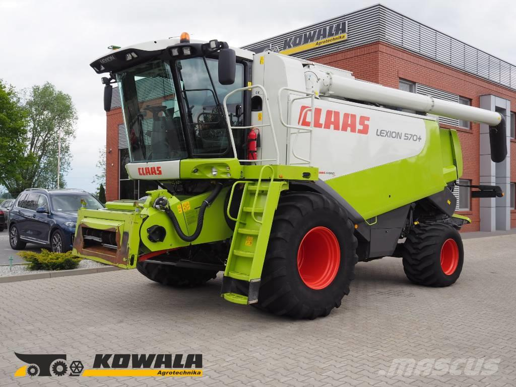 CLAAS Lexion 570 (4WD) + V750