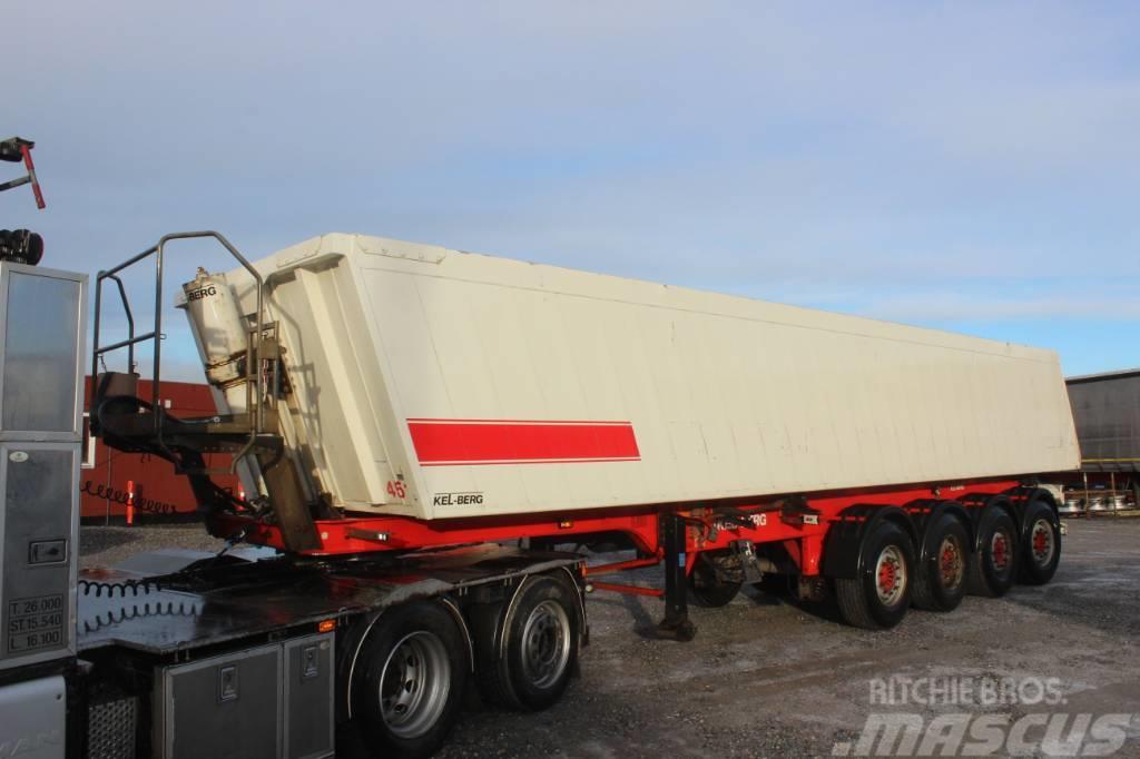 Kel-Berg Tip trailer 35 m3