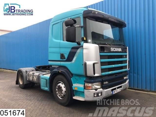 Scania 114 380 Manual