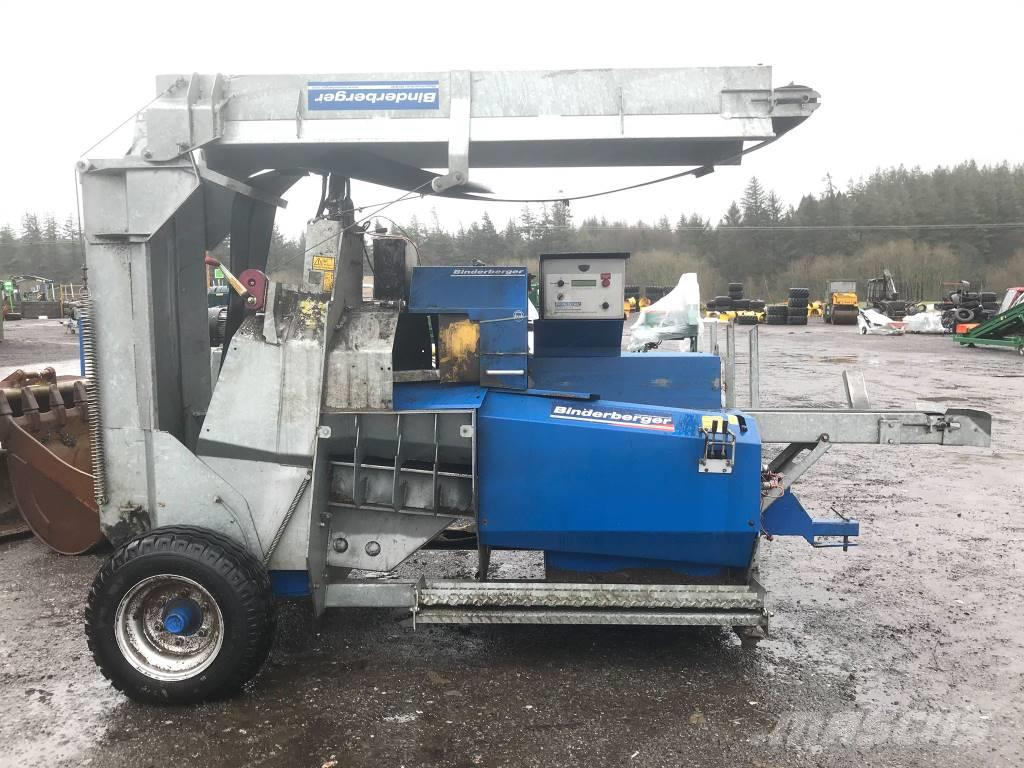Binderberger 450 trailed Firewood Processor