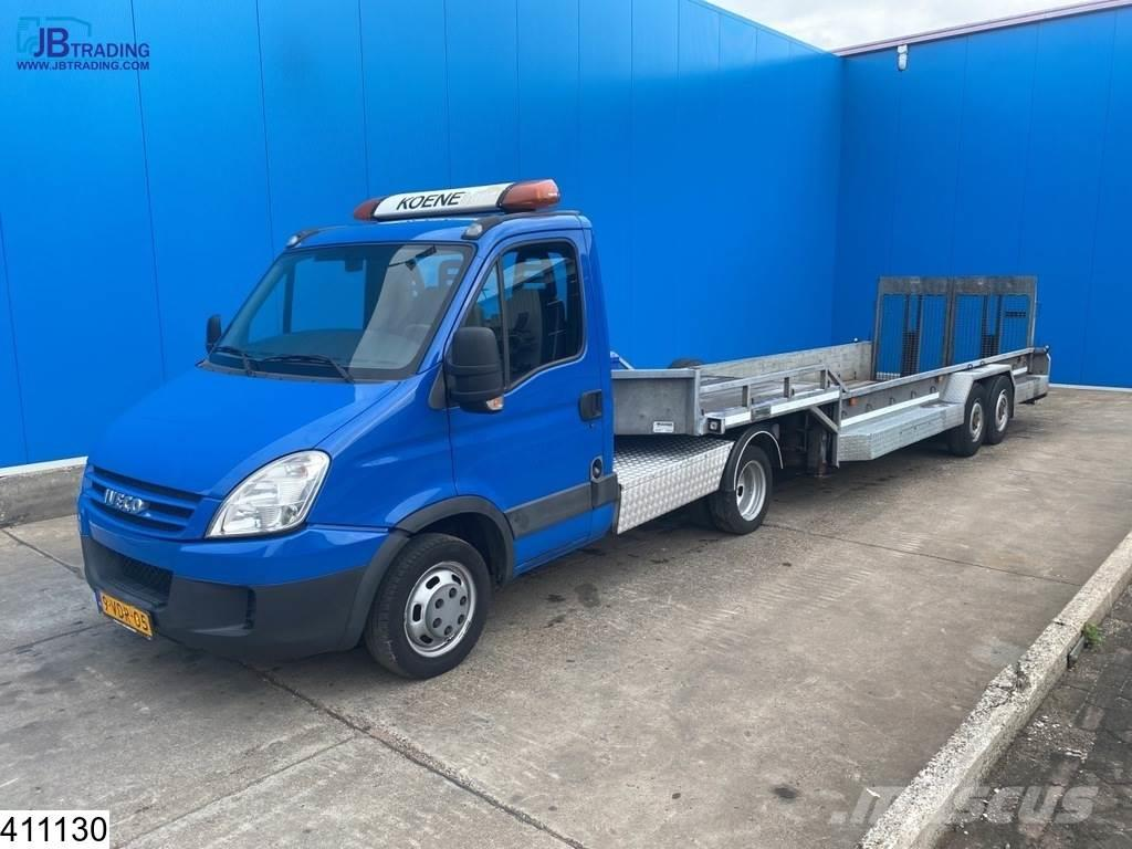 Iveco Daily Daily 35C18 T Payload 6180 kg, Machine trans
