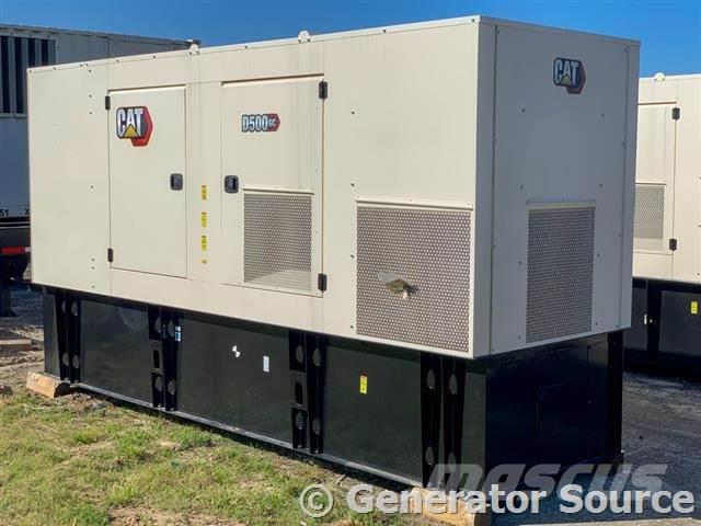 Caterpillar 500 kW - BRAND NEW - ETA NOVEMBER 2021