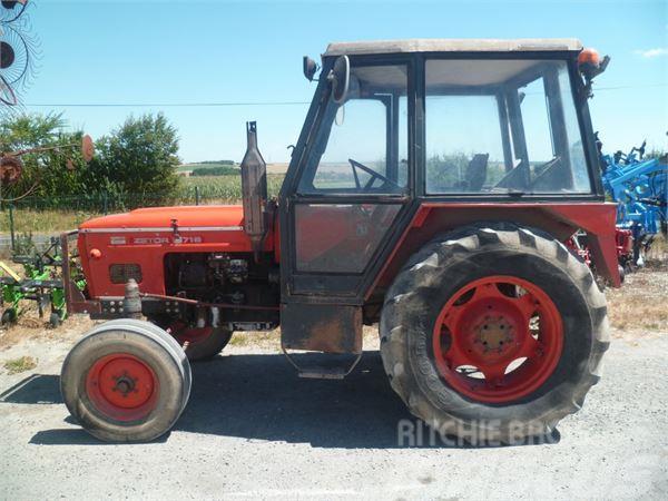 zetor tracteur agricole 5718 occasion france prix 2 500 ann e d 39 immatriculation 1973. Black Bedroom Furniture Sets. Home Design Ideas